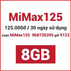 Gói MiMax125 Viettel