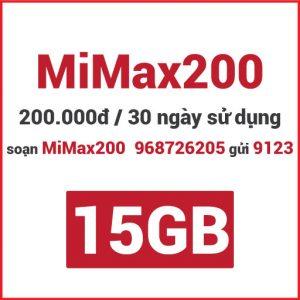 Gói MiMax200 Viettel