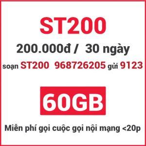 Gói ST200 Viettel