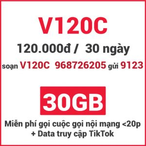 Gói V120C Viettel