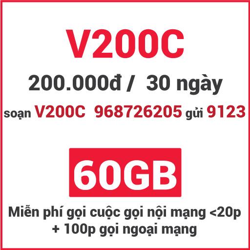 Gói V200C Viettel