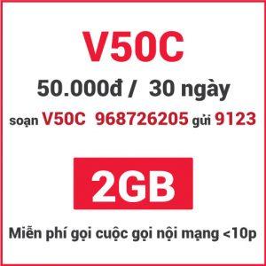 Gói V50C Viettel