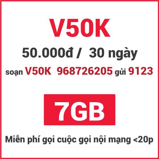 Gói V50K Viettel
