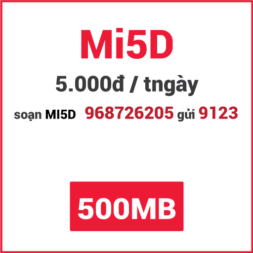 Gói Mi5D Viettel