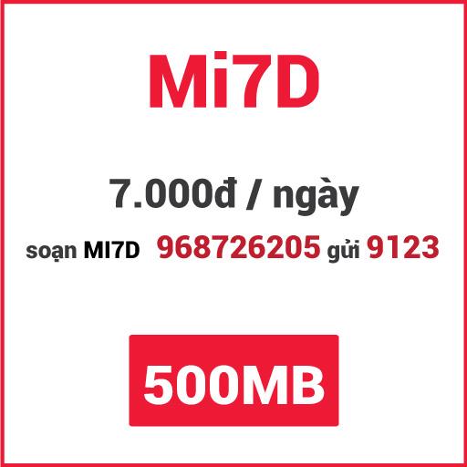 Gói Mi7D Viettel