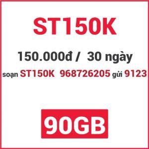 Gói ST150K Viettel