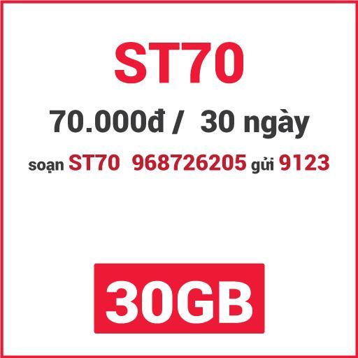 Gói ST70 Viettel