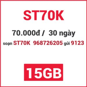 Gói ST70K Viettel