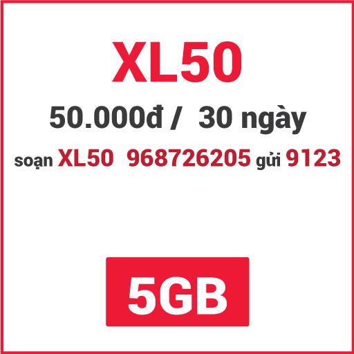 Gói XL50 Viettel